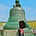 Huge Bell That Cracked In A Pit Inside Kremlin Walls In Moscow-r by Ruth Hager