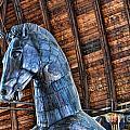 Huge Wooden Trojan Hourse by Brenda Kean