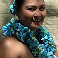 Hula Blue by James Temple