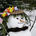 Hula Snowlady by LeeAnn McLaneGoetz McLaneGoetzStudioLLCcom
