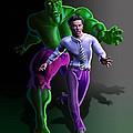 Hulk - Bruce Alter Ego by Anthony Mwangi