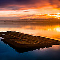 Humboldt Bay Spring Sunrise by Greg Nyquist