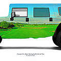 Hummer H1 Alpha Stirling Golf Club 6th Tee by Jan W Faul