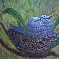 Hummingbird Babies by Xochi Hughes Madera