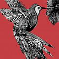 Hummingbird Flight 15 by Karen Larter