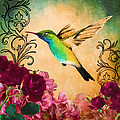 Hummingbird I by April Moen