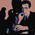 Humphrey Bogart And The Maltese Falcon 20130323m88 Square by Wingsdomain Art and Photography