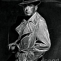 Humphrey Bogart - Pencil by Doc Braham