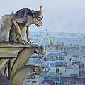 Hunchbacked Gargoyle by Jenny Armitage
