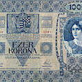 Hungary Banknote, 1902 by Granger