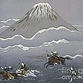 Hunt At Mount Fuji by Miho Kanamori