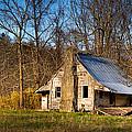 Hunter England Cabin - Rustic North Georgia Cabin by Mark E Tisdale