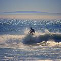 Huntington Beach California Surfer by Catherine Sherman