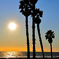 Huntington Beach Sunset by Eryn Carter
