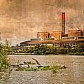 Huntly Power Station by Mark Llewellyn