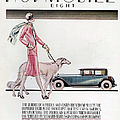 Hupmobile  1926 1920s Usa Cc Cars Dogs by The Advertising Archives