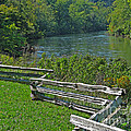Huron River Bend by Ann Horn