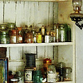 Hurricane Lamp In Pantry by Susan Savad