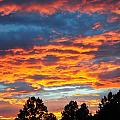 Hurricane Mountain Sunset 2 by Sherri Quick
