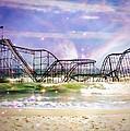 Hurricane Sandy Jetstar Roller Coaster Fantasy by Jessica Cirz