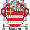 Hussey Coat Of Arms Irish by Heraldry