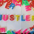 Hustler - Magnetic Letters by David Lovins