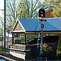Hut At Train Station by Yew Kwang