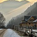 Hutsul Village by Zoriy Fine