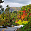 Hwy 281 In The Fall  by Duane McCullough