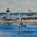 Hyannis Harbor by Lee Riggs