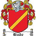 Hyde Coat Of Arms I Ireland Kilkenny by Heraldry