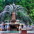 Hyde Park Fountain by Kaye Menner