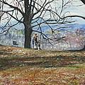 Hyde Park Ny by Michael Anthony Edwards
