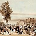 Hyde Park, Towards The Grosvenor Gate by Thomas Shotter Boys