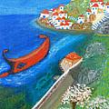 Hydra Island by Augusta Stylianou