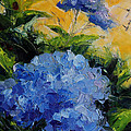 Hydrangea  by Nancy Angelini Crawford