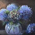 Hydrangeas by Donna Tuten