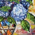 Hydrangeas by Karen Tarlton