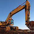 Hydraulic Excavator by Olivier Le Queinec