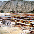 Hymen Terrace Yellowstone National Park by NPS Photo Detroit Photographic Co