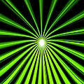 Hyperspace Electric Green Portrait by Pet Serrano