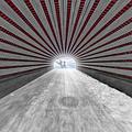 Hypnotic Playmates Arch by Susan Candelario