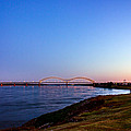 I-40 Bridge Across The Mighty Mississippi - Memphis - Tn by Barry Jones