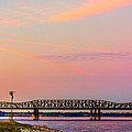 I-55 Bridge Over The Mississippi River - Memphis - Tn by Barry Jones