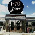 I-70 Diner In Fresco by Kelly Awad