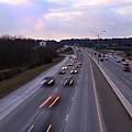 I-75 Knoxville At Dusk by Melinda Fawver