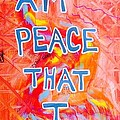 I Am Peace by Paul Carter