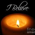 I Believe  by Carol Groenen