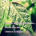 I Believe In Myself by Jessie Lynn