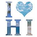 I Heart Hawaii On White by Ashlee Meyer